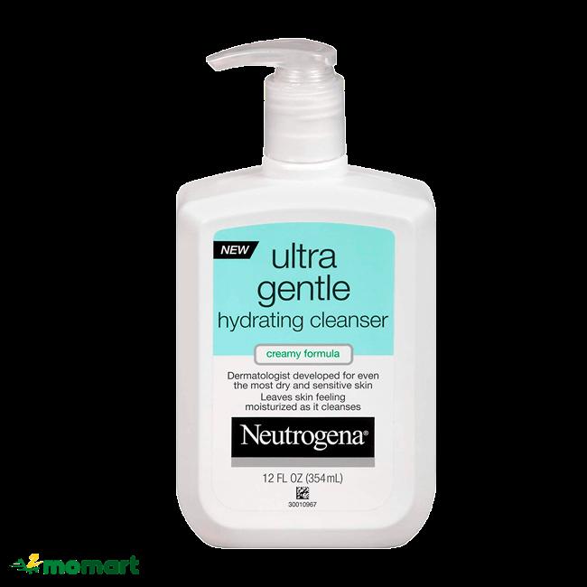 Sữa rửa mặt Neutrogena dịu nhẹ cho da