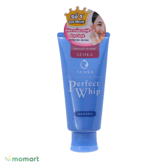 Sữa rửa mặt Senka giúp làm sạch da hiệu quả
