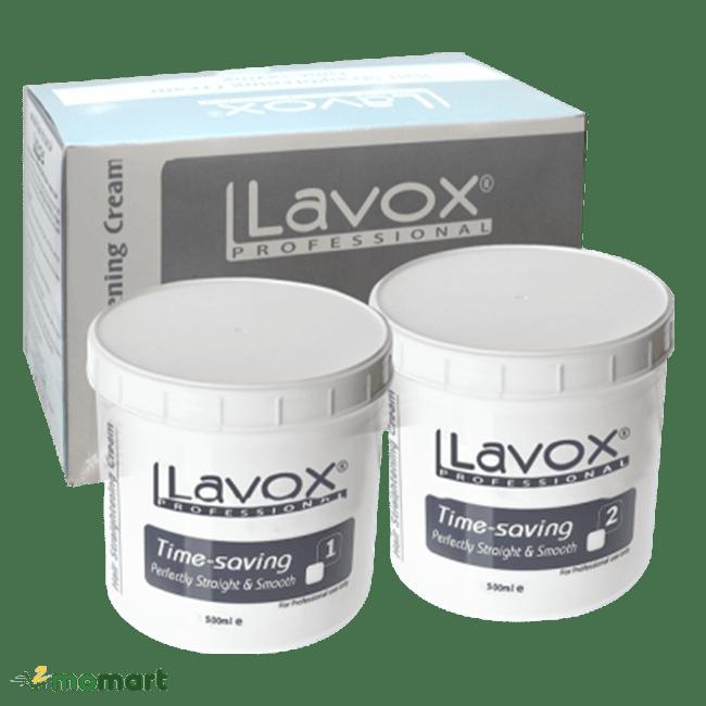 Sản phẩm thuốc duỗi tóc Lavox màu xám