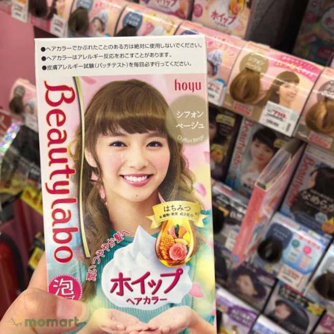 Thuốc nhuộm Beautylabo sản phẩm