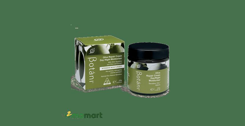 Botani Olive Repair Cream Day & Night Moisturiser khóa ẩm