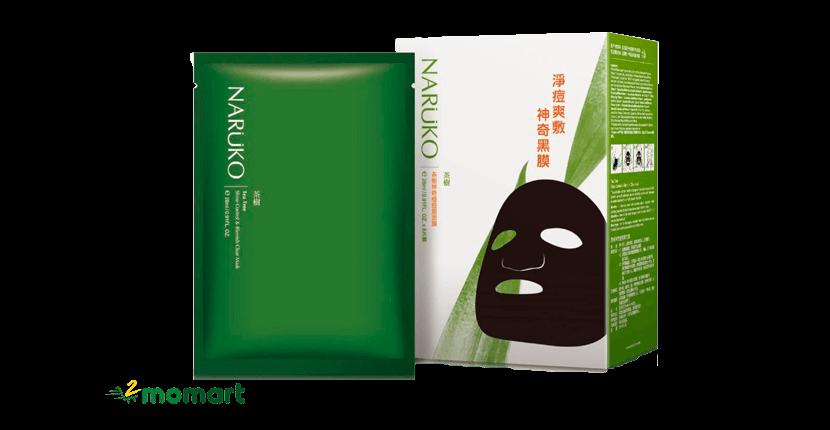 Mặt nạ giấy Naruko tràm trà cho da mụn