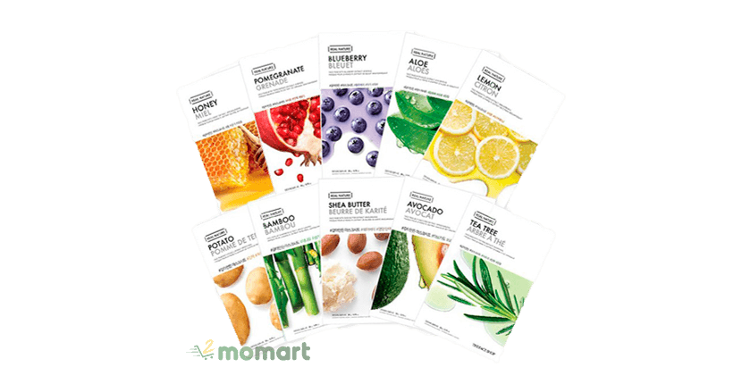 Mặt nạ giấy The Face Shop Real Nature Face Mask
