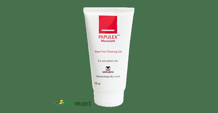 Sữa rửa mặt da nhạy cảm Papulex Moussant Soap Free Cleansing Gel
