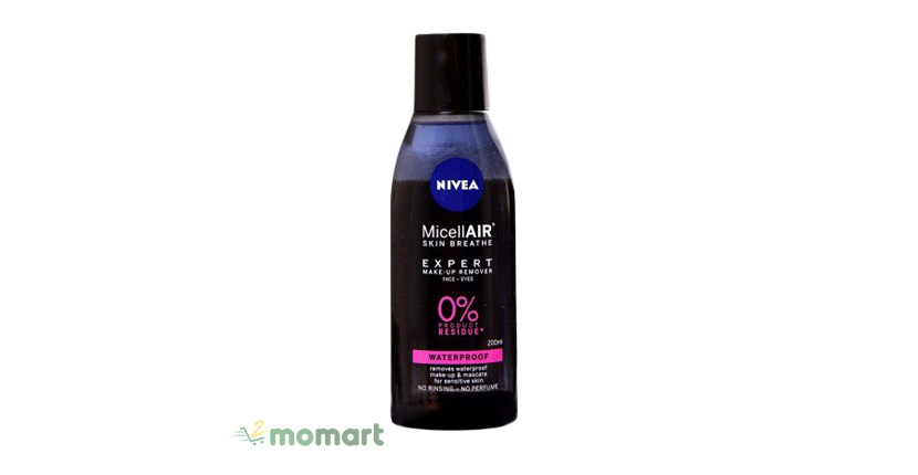 Nước tẩy trang Nivea Micellar Skin Breathe tẩy sạch bụi bẩn