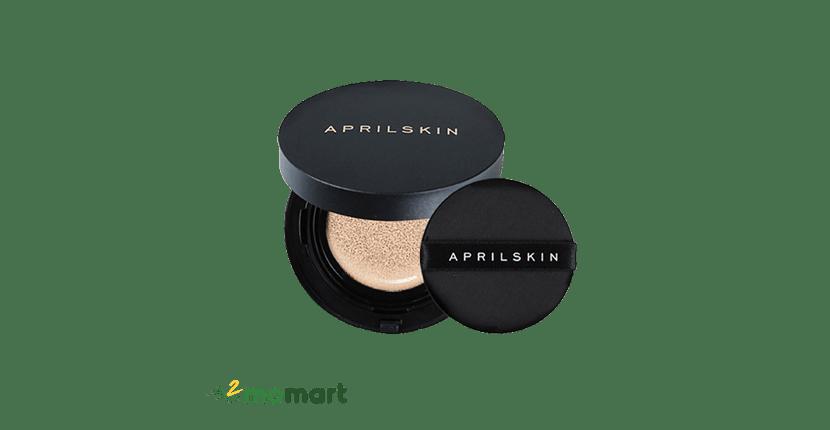 April Skin Black Magic Snow Cushion dịu nhẹ cho làn da