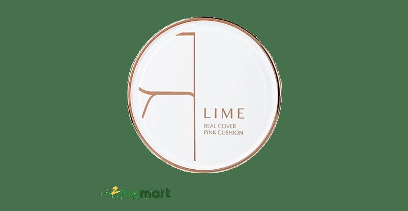 Lime Real Cover Pink Cushion không gây nhờn rít khó chịu