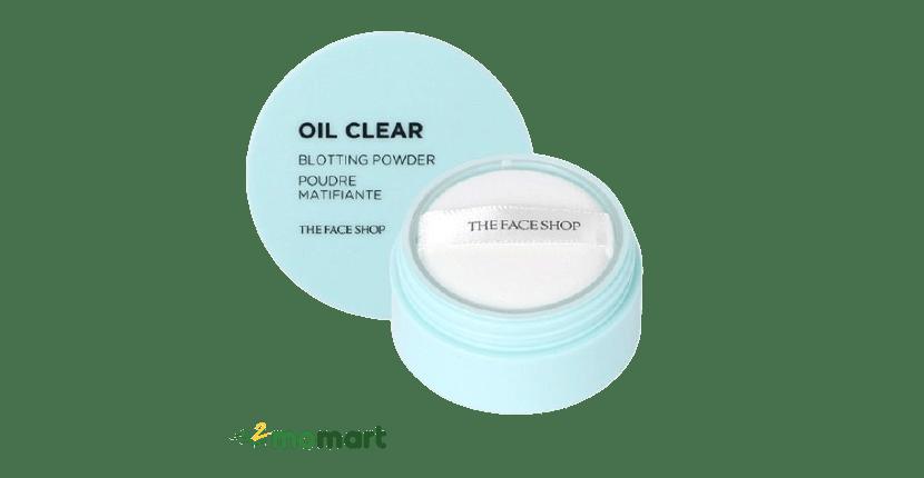 Oil Clear Blotting Powder Poudre Matifiante thẩm hút tốt