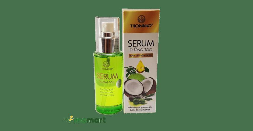 Serum dưỡng tóc Thorakao dễ sử dụng và an toàn cho da đầu