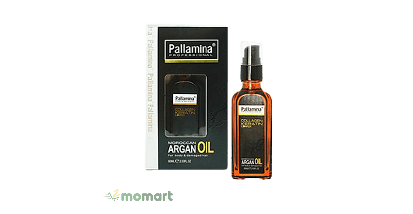 Serum Pallamina Moroccan Argan Oil an toàn cho da đầu
