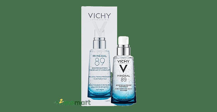 Tinh chất Vichy Mineral 89 thành phần thiên nhiên