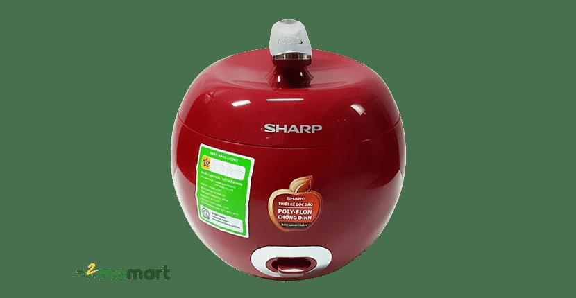Sharp KS-A08V-R 0.72L nấu cơm ngon