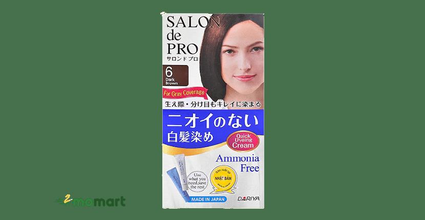 Thuốc nhuộm tóc phủ bạc Salon de Pro