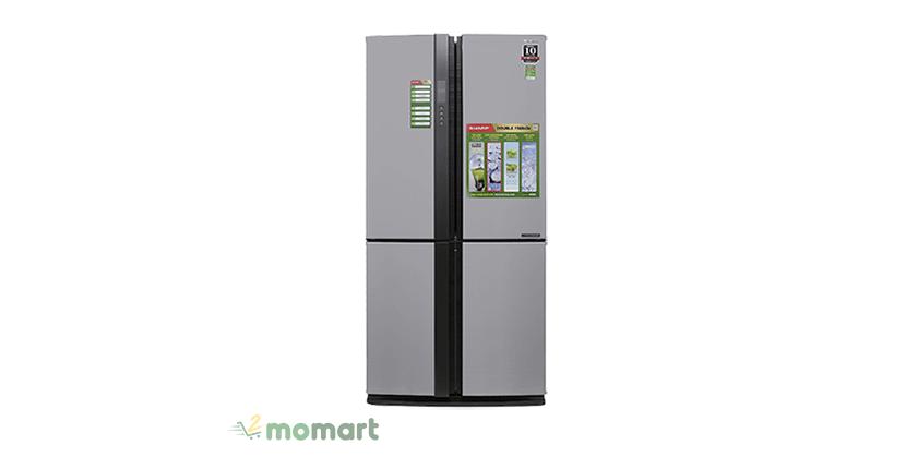 Tủ Lạnh Sharp Inverter 556L SJ-FX631V-SL giá rẻ