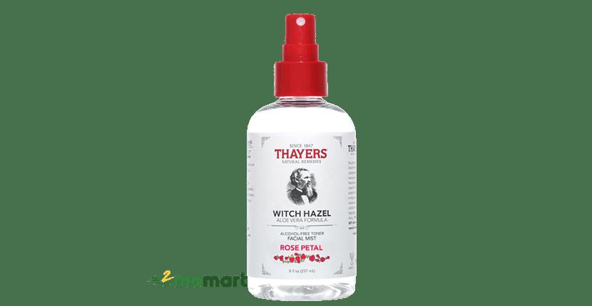 Xịt Khoáng Thayers Alcohol-Free Lavender Witch Hazel Toner Facial Mist