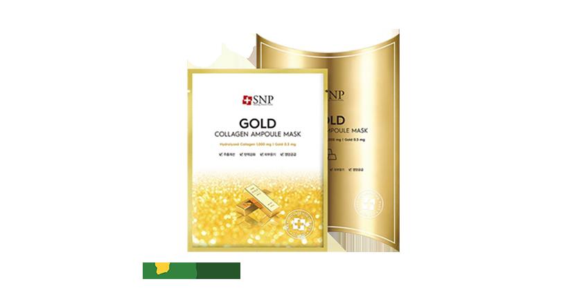 SNP Gold Collagen Ampoul Mask chính hãng