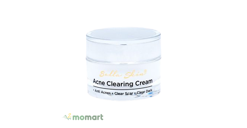 Kem trị mụn Bella Skin Acne Clearing Cream