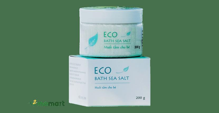 Muối tắm thảo dược tự nhiên Eco 200g