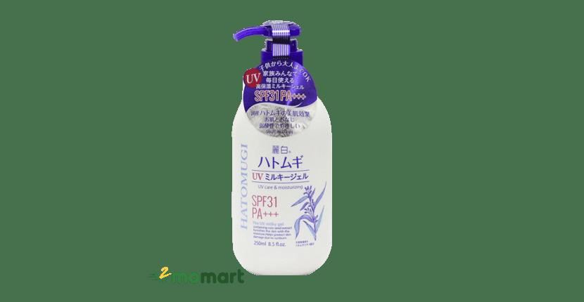 Sữa dưỡng thể chống nắng Hatomugi