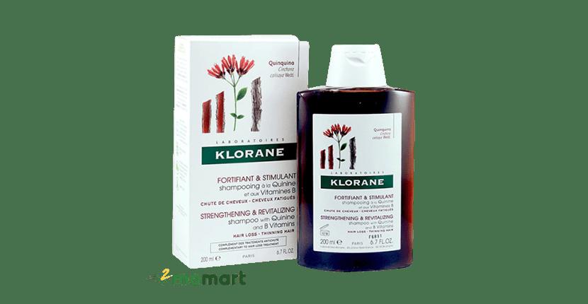 Dầu gội giúp mọc tóc Pháp Klorane Quinquina