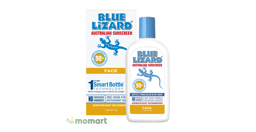 Blue Lizard Australian Sunscreen Face SPF 30+