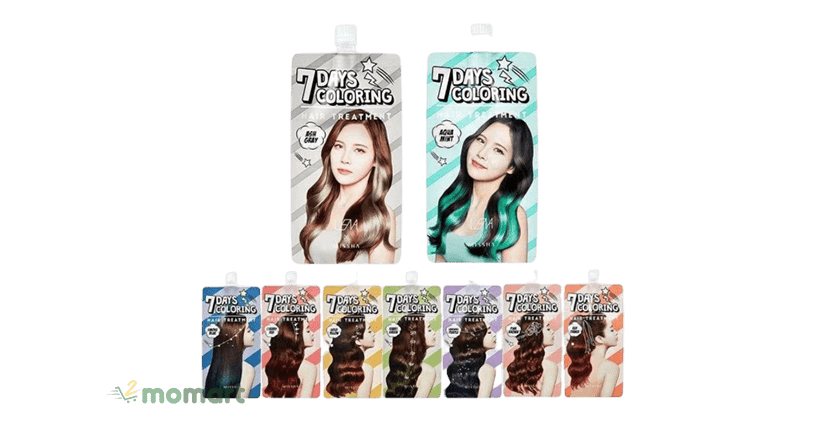 Missha 7 days Coloring Hair Treatment