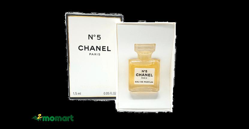 Nước hoa nữ mini Chanel No5 EDP 1.5ml