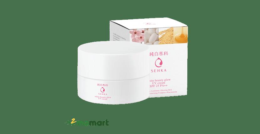 Senka White Beauty Glow UV Cream SPF25/PA++