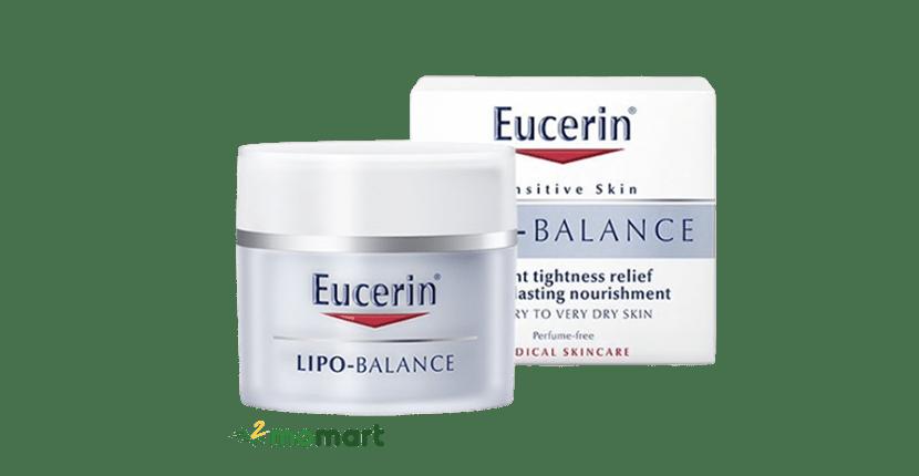 Dưỡng ẩm ban ngày Eucerin Lipo Balance cho da mặt