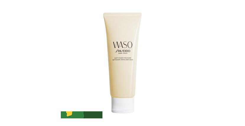 Kem tẩy da chết vật lý Shiseido Waso Soft+Cushy Polisher