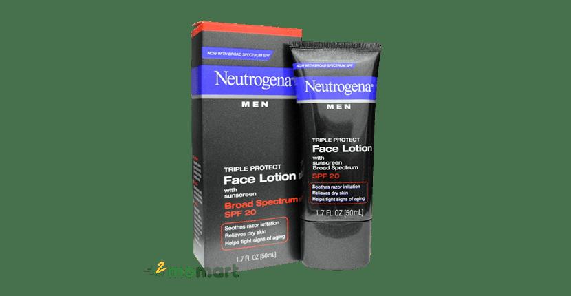 Neutrogena Men Triple Protect SPF 20 dành cho nam giới