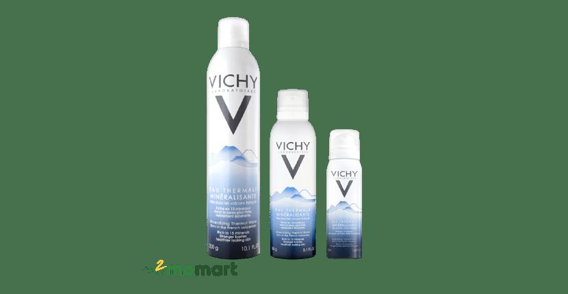 Xịt khoáng cho da khô Vichy Mineralizing Thermal Water
