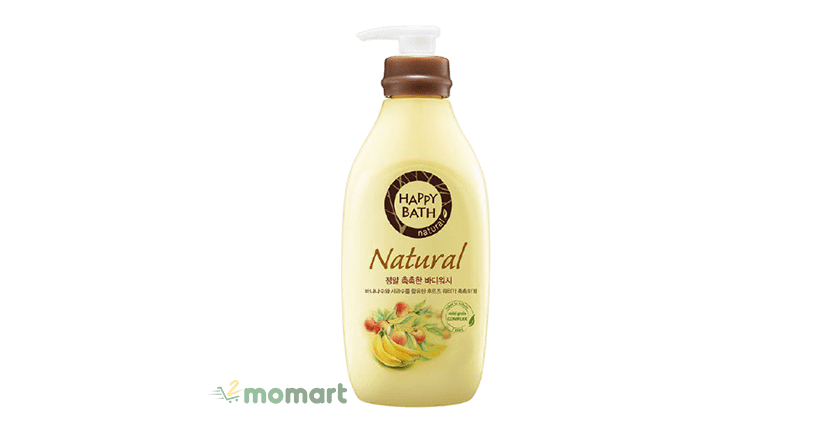 Happy Bath Natural Real Moisture chống lão hóa tốt
