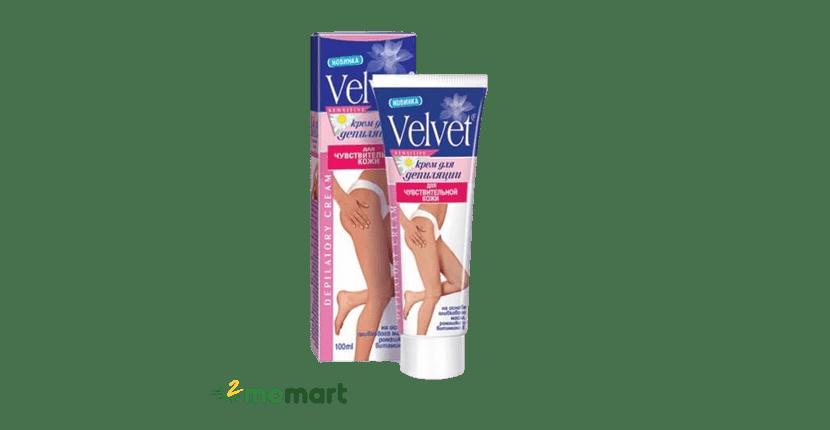 Kem tẩy lông chân Velvet không gây kích ứng