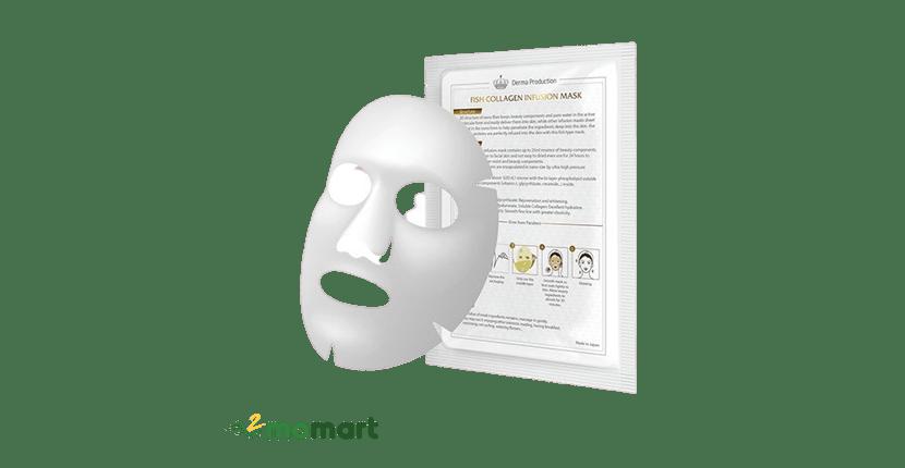 Mặt nạ da cá Fish Collagen Infusion Mask giá rẻ