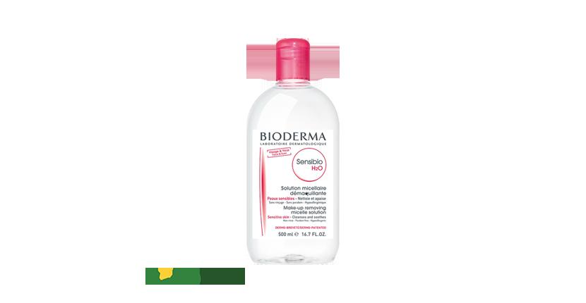 Micellar Bioderma Sensibio H2O được thiết kế tiện lợi