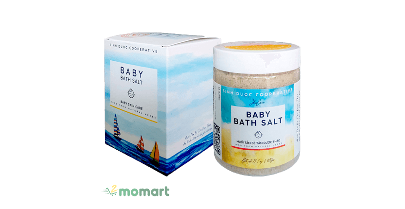 Muối tắm bé Sinh Dược Baby Bath Salt
