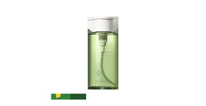 Nước tẩy trang Innisfree Green Tea Cleansing Water có mùi hương dịu  nhẹ