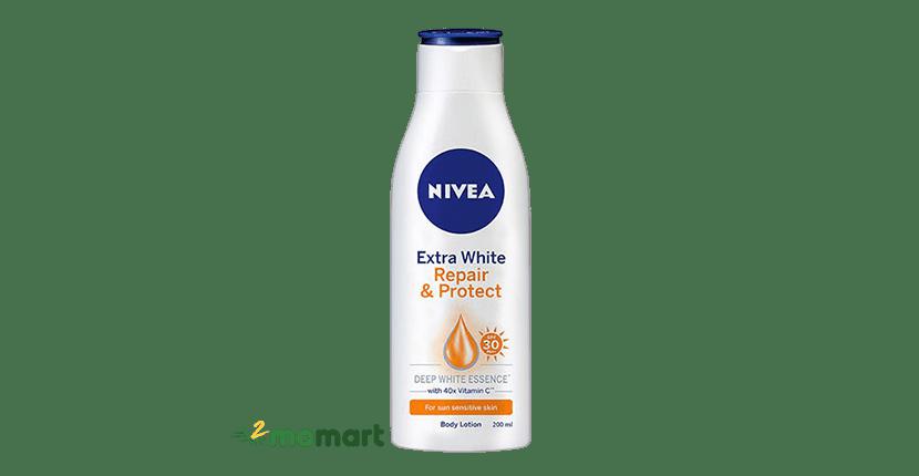 Sữa dưỡng thể cho da cơ thể Nivea Extra White Spf 30