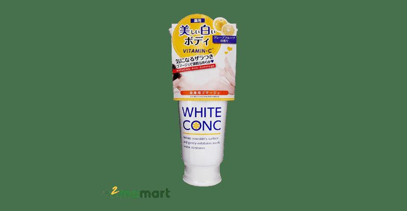 Tẩy tế bào chết body cho da khô White Conc an toàn cho da