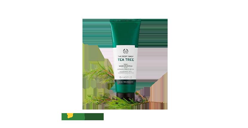 Tẩy Tế Bào Chết The Body Shop Tea Tree lành tính cho da