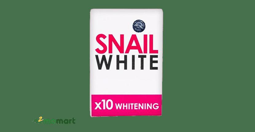 Xà phòng tắm trắng Snail White trị mụn lưng