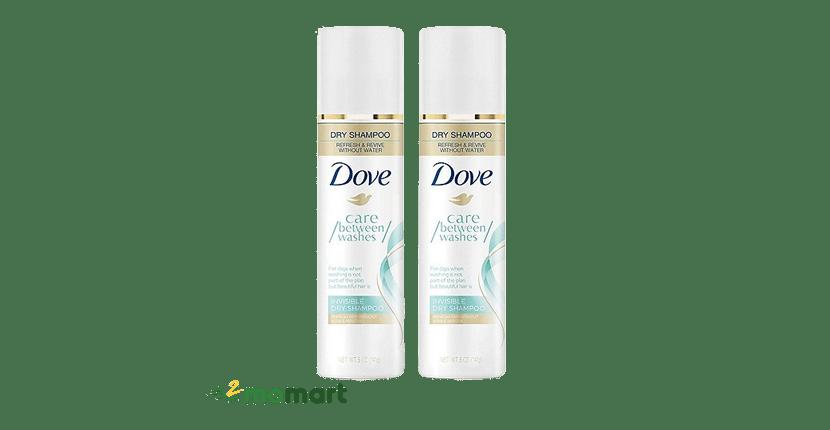 Dầu gội khô Dove Invisible Dry Shampoo loại bỏ dầu nhờn