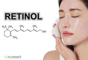 Retinol cho da khô chống viêm cho da hiệu quả